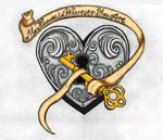 Heart Tattoo Coloured