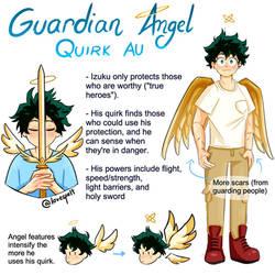Guardian Angel Izuku Au