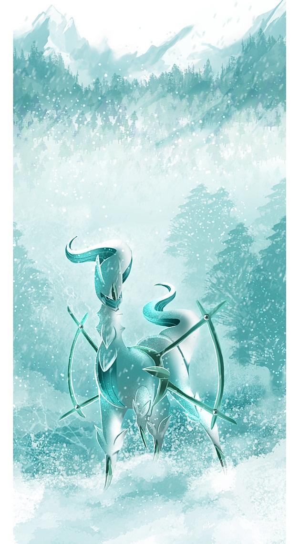 Arceus Wallpaper by lunasnightmare
