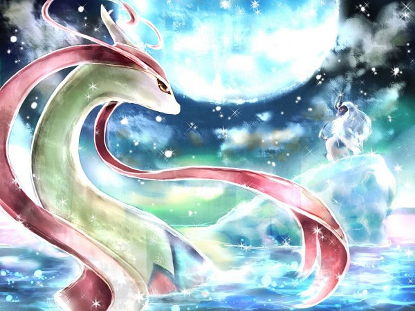 Milotic by lunasnightmare