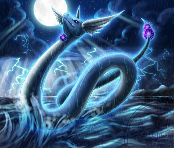 Dragonair by lunasnightmare