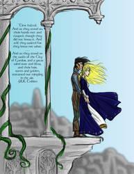 Faramir and Eowyn Await Doom