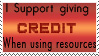 Credit Stamp by crimecontrol