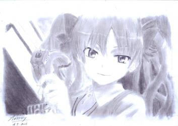 Shirai Kuroko by anthonytrianh
