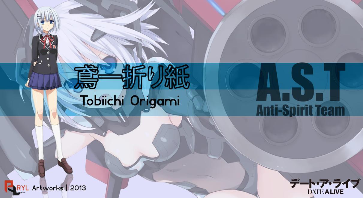 Date A Live Origami Wallpaper Tobiichi Origami  Date A Live