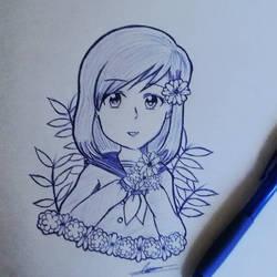 Flower School Girl