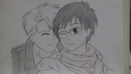 Yuri!!! on Ice - Yuri  Victor