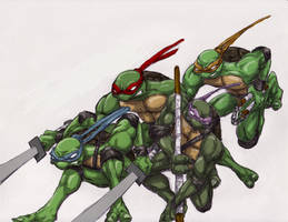 Another TMNT by JRod555