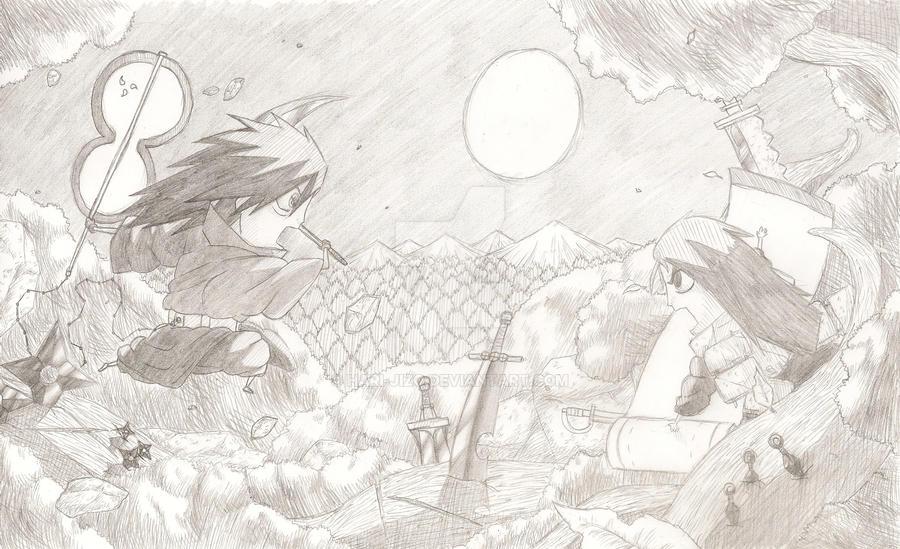 Chibis: Madara vs Hashirama by Hari-Jizo on DeviantArt