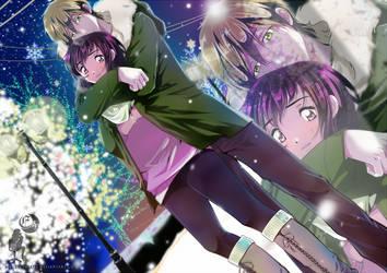 Makoto and Maiko by FanasY