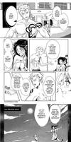 Neirah and Laxus comic by FanasY