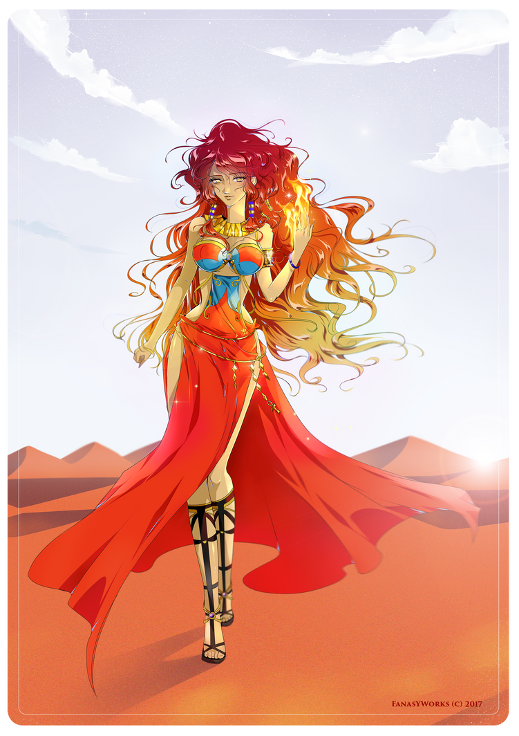 Sun magician by FanasY