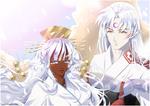 Yuki and Sesshoumaru
