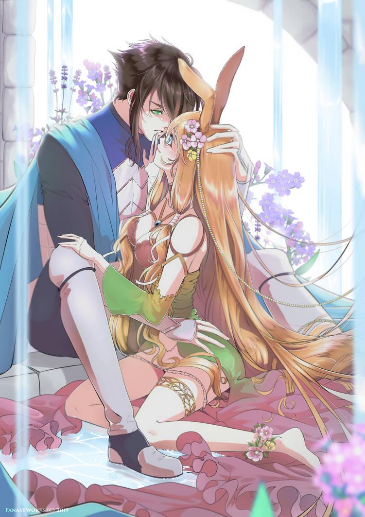 Lyori and Tomatsu by FanasY
