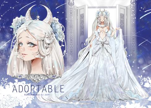 Goddess adoptable [Sacred 01]  -AUCTION CLOSED