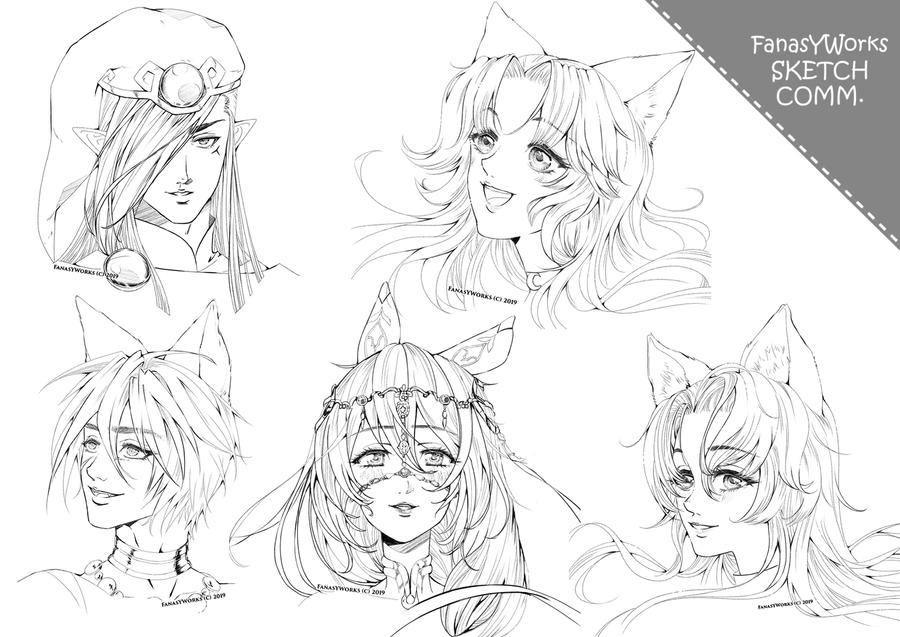 Sketches - 4th batch by FanasY
