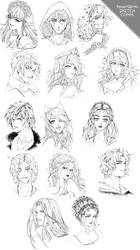 Sketches 8th batch and Charity