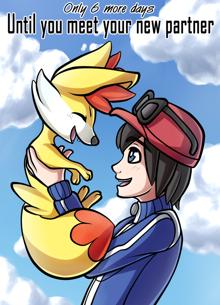 6 Days Until Pokemon X and Y! by Ashteritops
