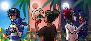 Pokemon Sun and Moon by PrinceofSpirits