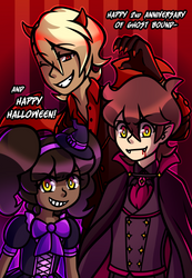 Happy 2nd Year of Ghost Bound and Happy Halloween!