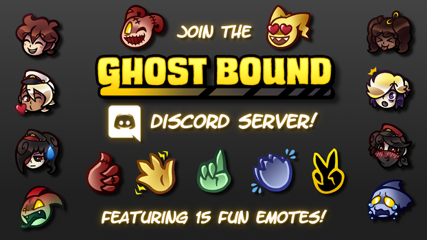 Join the Ghost Bound Discord Server!