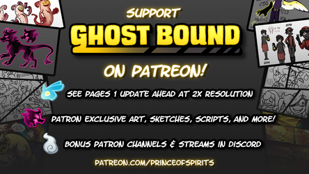 Support Ghost Bound on Patreon!