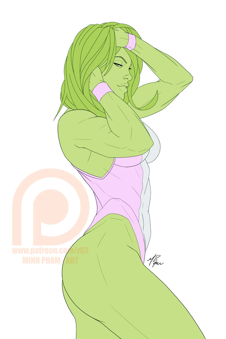 PREVIEW - She-Hulk by R62