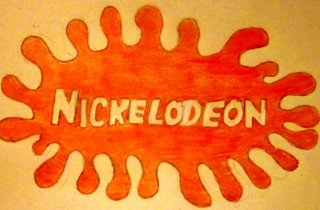 nickelodeon old logo by slivermoon131 on deviantart