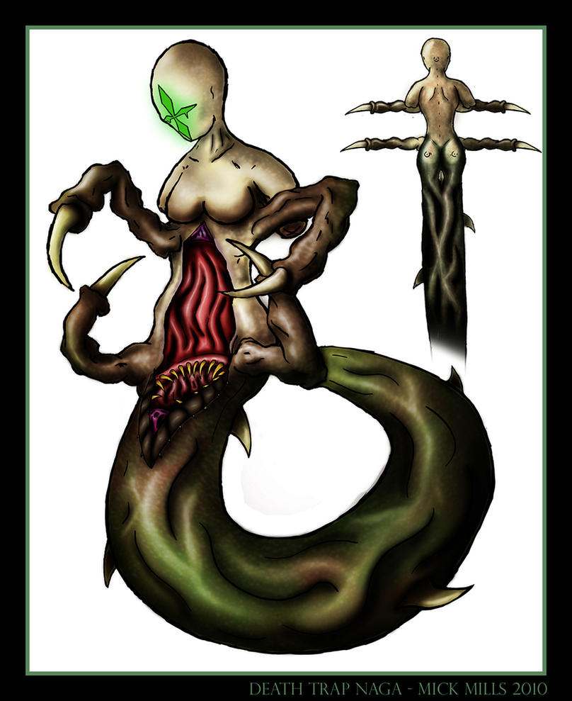 Death Trap Naga by assassin-sylk