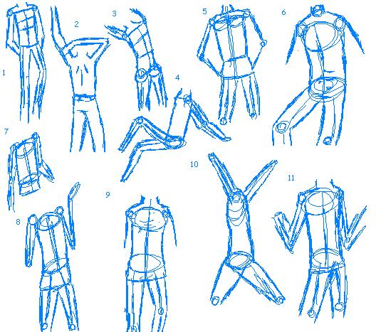 Body Positions Male By Blackrosebandkitsune On Deviantart