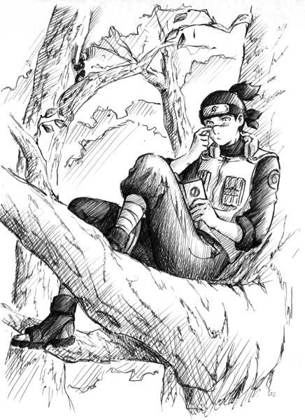 Iruka-sensei by Sideburn004