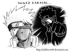 Inner Kakashi by Sideburn004