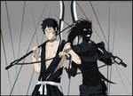 Bleach: Shuuhei and Kazeshini