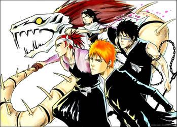 BLEACH: Shinigami squad by Sideburn004