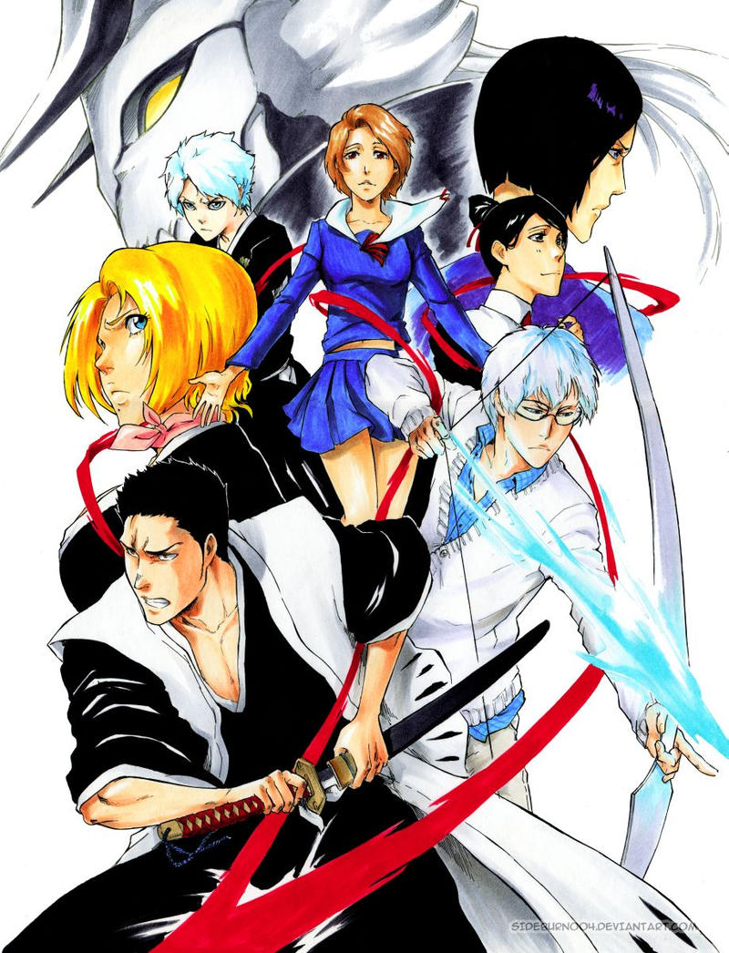 BLEACH: Ishida-Kurosaki SPOILER by Sideburn004