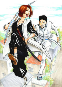 BLEACH: Try to catch me!