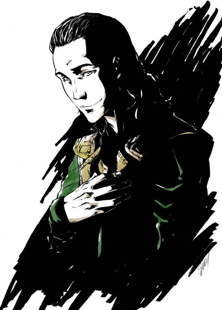 Loki by Sideburn004