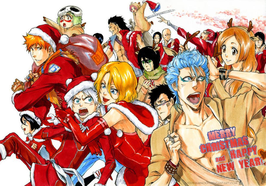 Amic invisible 2014 Bleach__merry_christmas_by_sideburn004-d6z6zbj