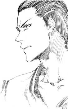 KnB: Haizaki sketch