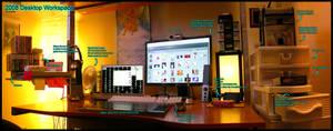 2008 Desktop Workspace by gucci84