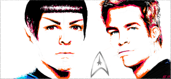 Facebook Star Trek by gucci84