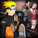 Naruto and korra Final by marianoartedesign