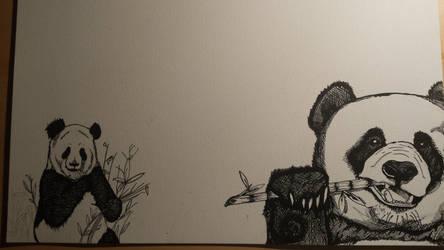 Pandas by Kimpatsu30
