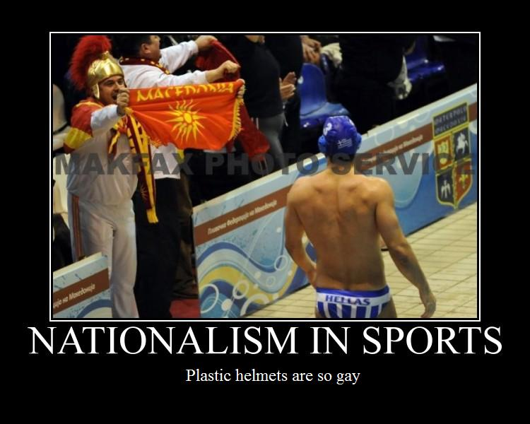 sports and nationalism 2 essay Sports and sports media have been one  sports broadcasting reinforces gender stereotypes and  media coverage reinforces gender stereotypes and homophobia.