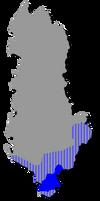 Greek Minority in Albania Map