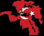 Ottoman Empire Flag-Map 1683