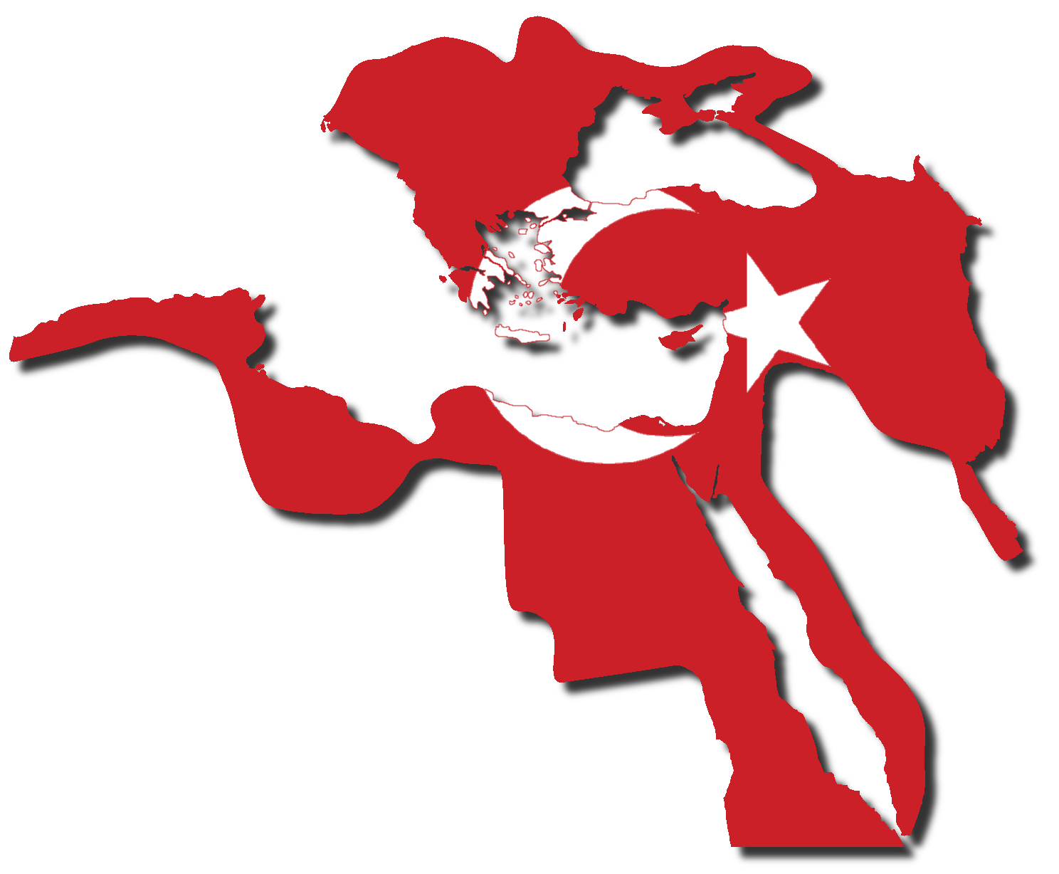 mediterranean countries flag map by captainvoda on deviantart