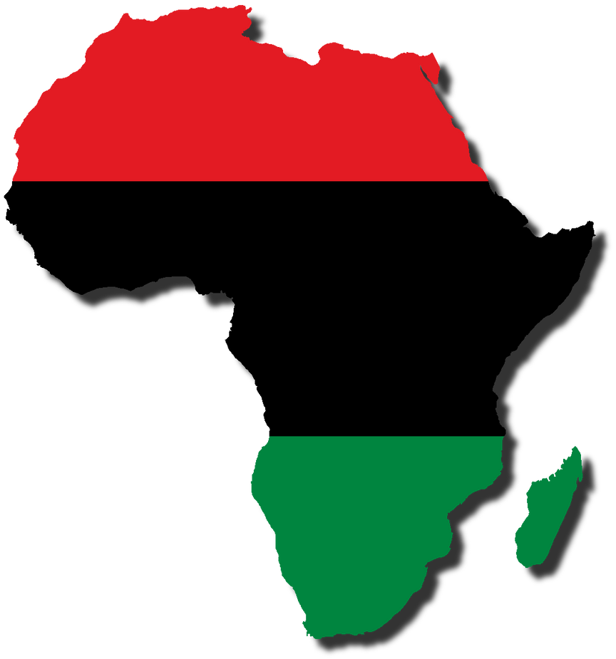 Africa Map Flags 28 Images The Countries Of