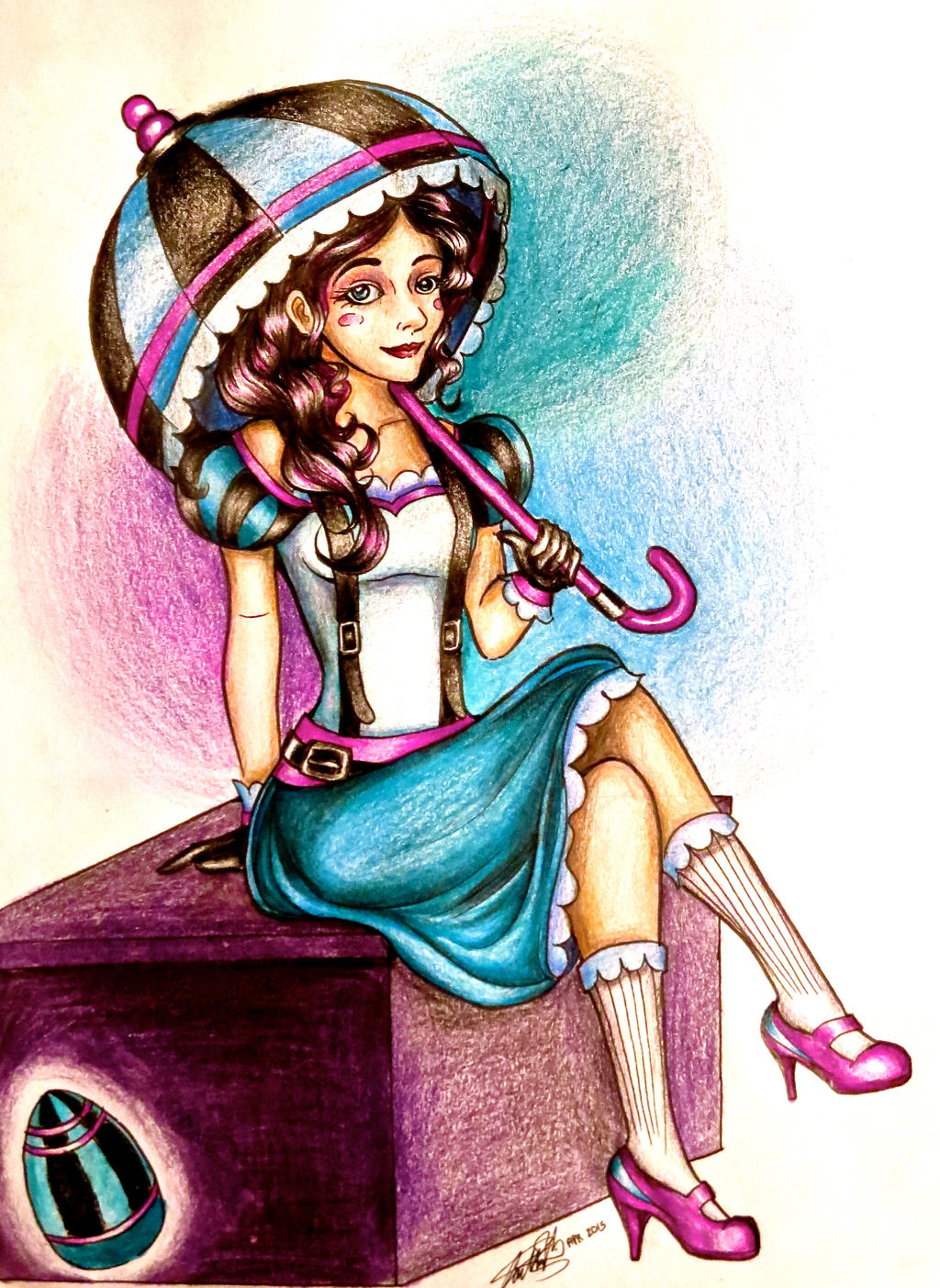 Character Design Competition 2015 : Easter egg character design contest marjorie by
