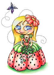 Flower girl by Harpyen